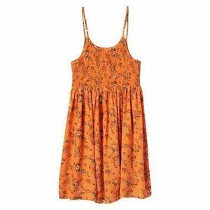 Mudd Girls Smocked Top Skater Sun Dress Floral 12